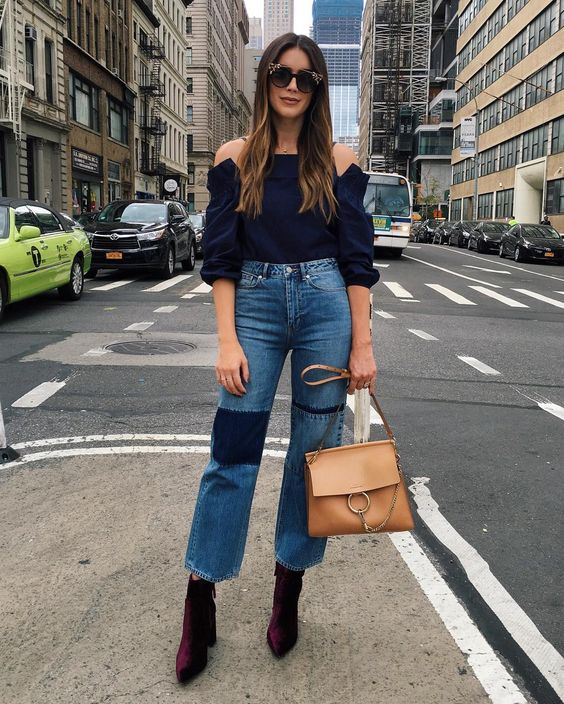 Day 2 in denim! Off to fittings w/ one of my all time favorite brands @chloe  #chloegirls