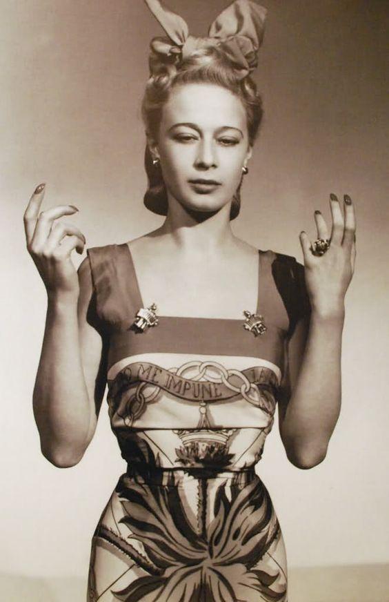 Dress of Elsa Schiaparelli, 1930's