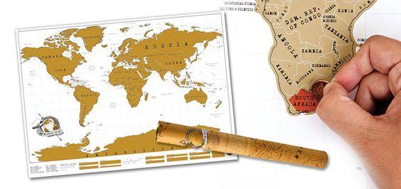 Weltkarte zum
