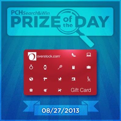 Too much or just enough? Today we're award 5 Overstock.com gift cards valued at $150 each! Will you be one of the 5 lucky winners? ‪#‎PCH‬ ‪#‎PrizeofTheDay‬