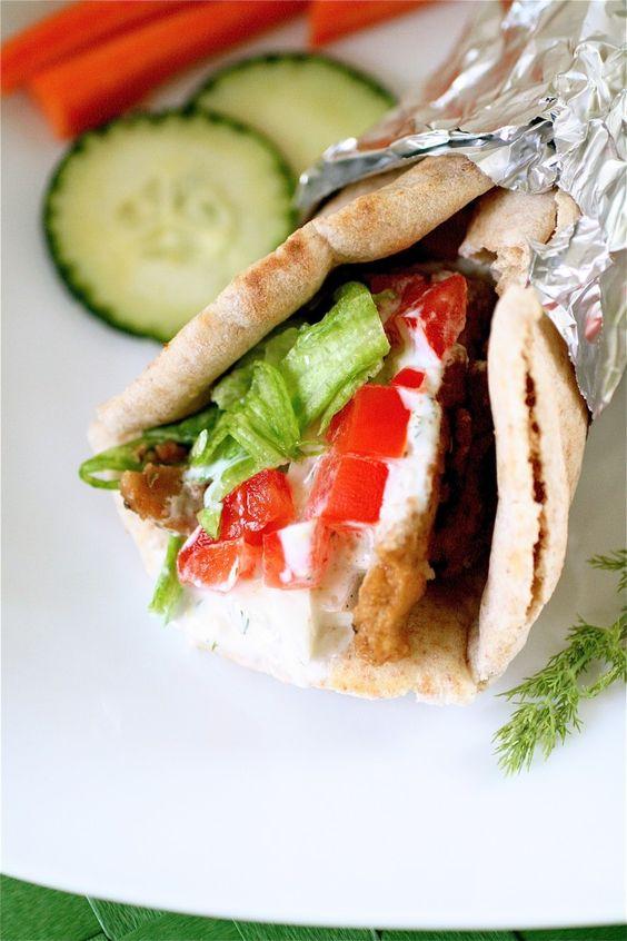 Vegetarian gyro recipe
