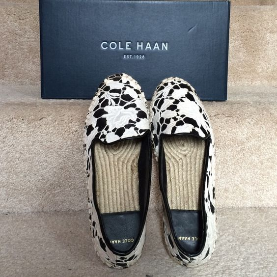 New Cole Haan Palermo flat shoes sz 8  ❌trade Brand new with box... Authentic.... Retail $128+ women size 8b Cole Haan Shoes Flats & Loafers