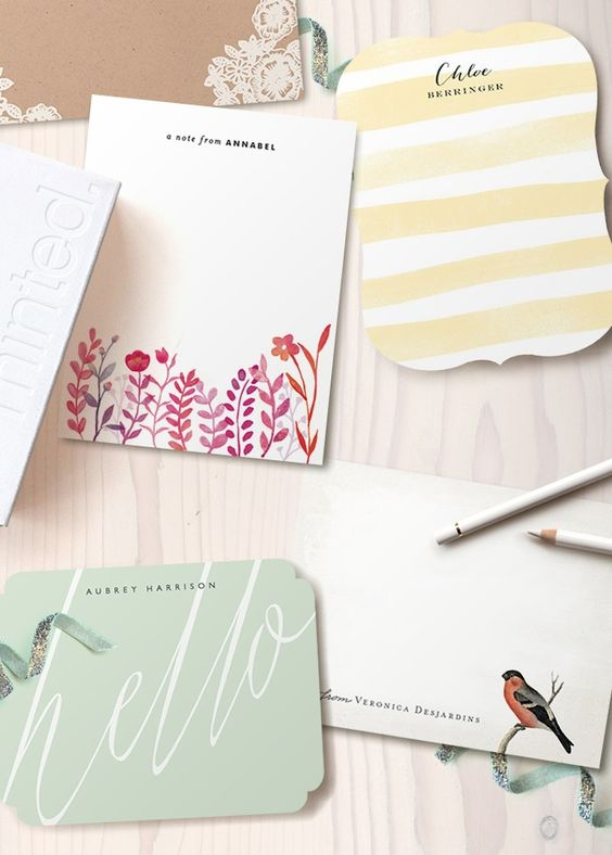 Adore these #MothersDay gift ideas from @Minted! These note cards are seriously chic. #giftidea