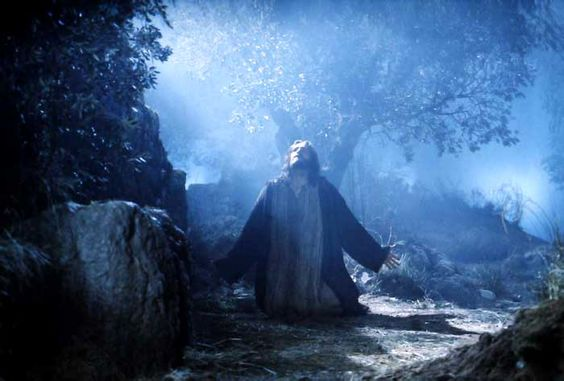 Jesus Praying at Gethsemane | Matthew 26:39: And going a little farther, he threw himself on the ...