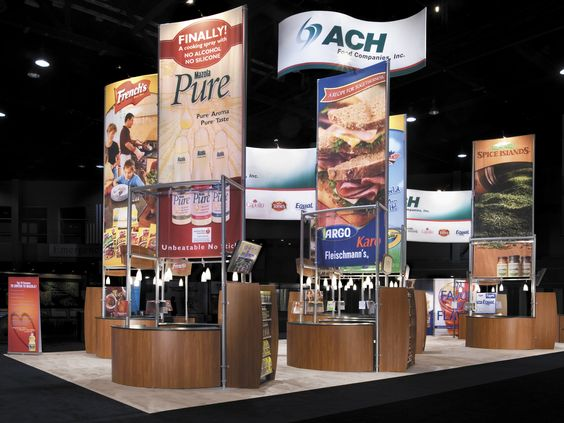 Exhibit design ideas inspiration trade show displays exhibition stand builder in viet nam - Food booth ideas ...
