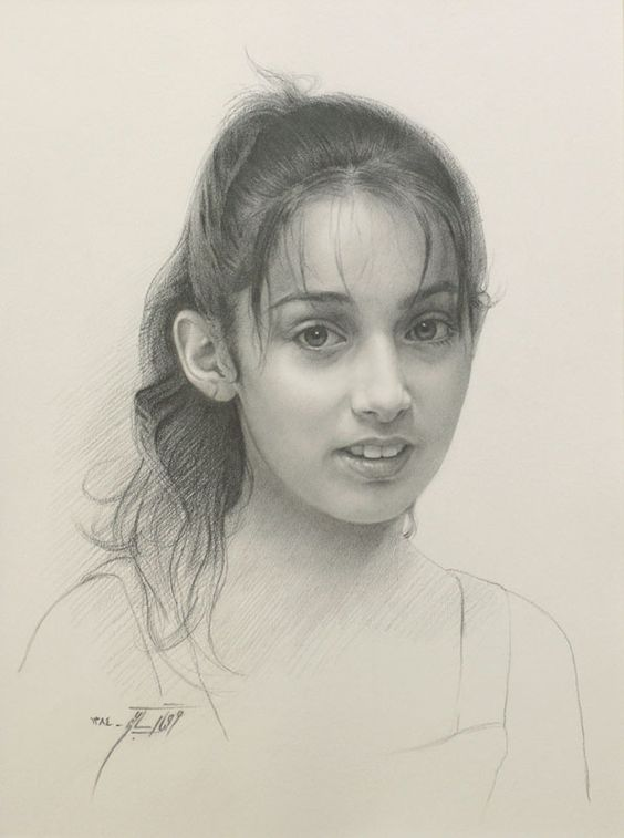 Farahnaz Saatchi (graphite on paper)