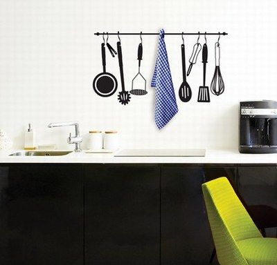 vinilos decorativos para la cocina: