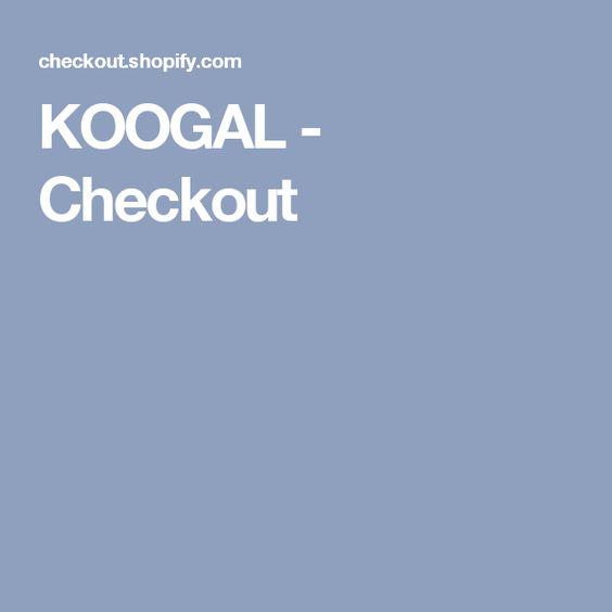 KOOGAL - Checkout