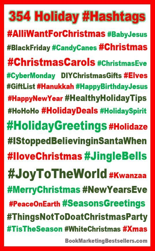 365 Holiday Hashtags The Best Hashtags For The Holiday Season Holiday Hashtags Here Are A Few Of T In 2020 Holiday Hashtags Christmas Marketing Christmas Campaign