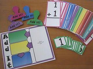 Add It math game -- free to print