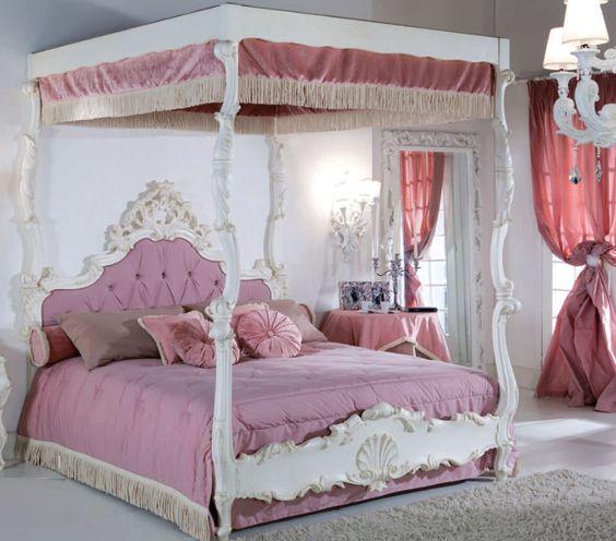 Kids bed (girls) - VIENNA - CHIAVEGATO