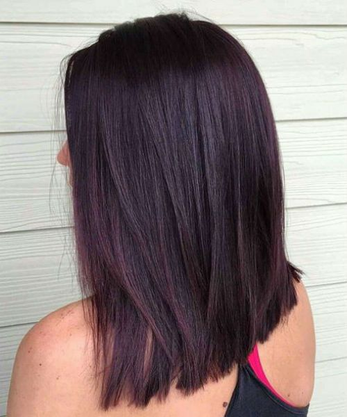 New Attractive Black Cherry Hair Colour Ideas 2019 For Women To Get A Super Charming Look Hair And Comb Black Cherry Hair Color Cherry Hair Blackberry Hair Colour