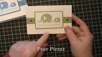 Stampin Up - Note Cards and Envelopes - YouTube