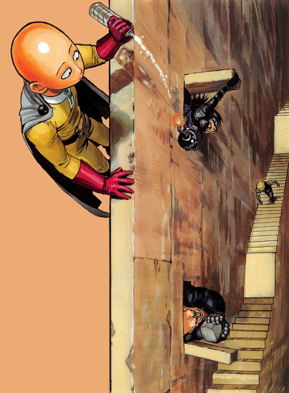 ワンパンマン上からの攻撃もあるんだの壁紙