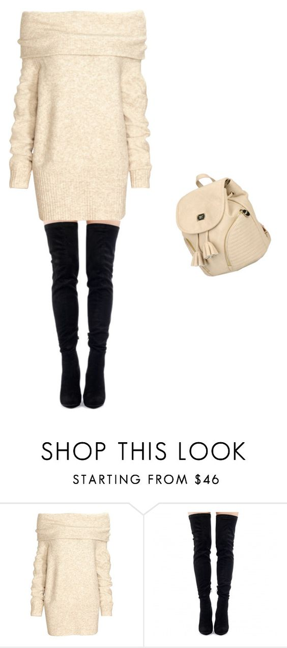 """Untitled #179"" by liakdn ❤ liked on Polyvore featuring H&M and Blugirl"