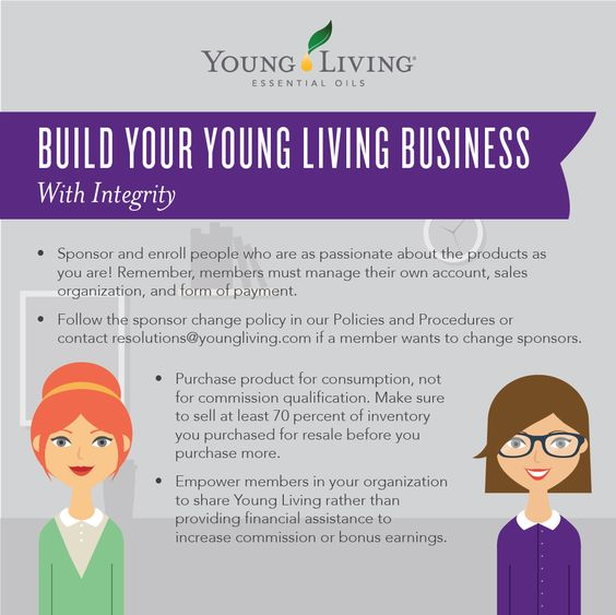 Young Living Essential Oils Concentrated Lavender Lemon - how to make a sponsor form
