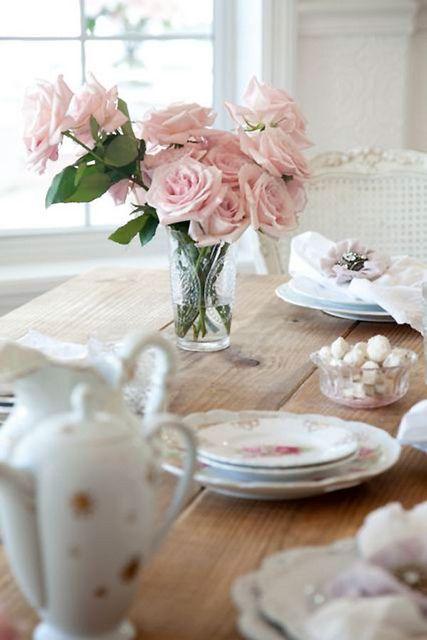 Pink dining!