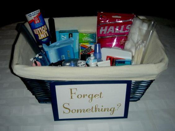 Complete list for bathroom baskets!