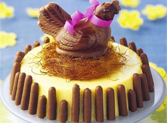 Un bavarois vanille pour Pâques - R. Nurra - Cedus