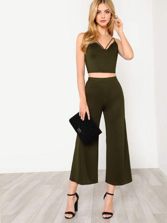 Strappy+Neck+Cami+Top+&+Pants+Co-Ord+20.00