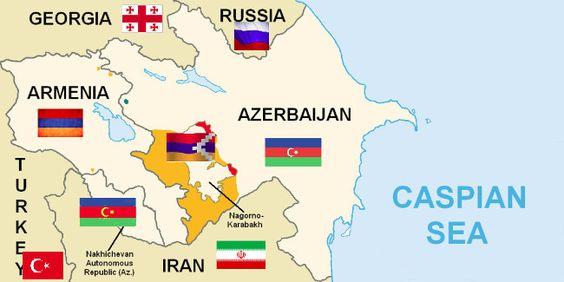 In deutschen und internationalen Medien erscheint der Konflikt in und um Berg-Karabach nicht in seinen menschenrechtlichen Dimensionen, sondern als zwischenstaatlicher Konflikt der beiden südkaukasischen Länder Aserbaidschan und Armenien.