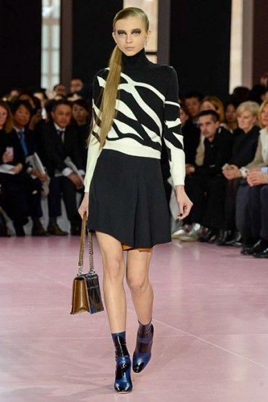 PFW Runway Report: Dior Fall 2015 via OliviaPalermo.com