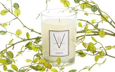 """eco-friendly candle - in """"Bleu"""" (Citron, Neroli & Lily of the Valley)"""