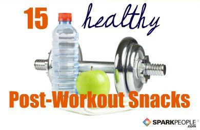 Don't undo your hard work with the wrong foods! Try one of these 15 healthy post-workout snacks.
