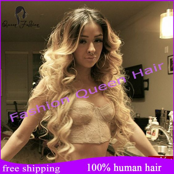 """Cheap wig toupee, Buy Quality wig tool directly from China wig rollers Suppliers:    16""""-24""""Brazilian curly glueless full lace wigs human hair/lace front wig ombre lace wigs for black women b"""