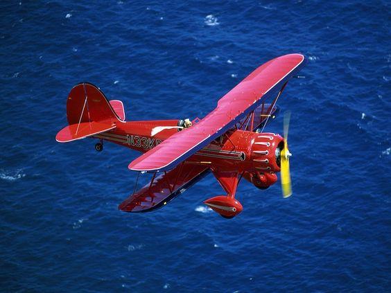 1935 Waco Bi Plane The Waco YMF 5D Biplane
