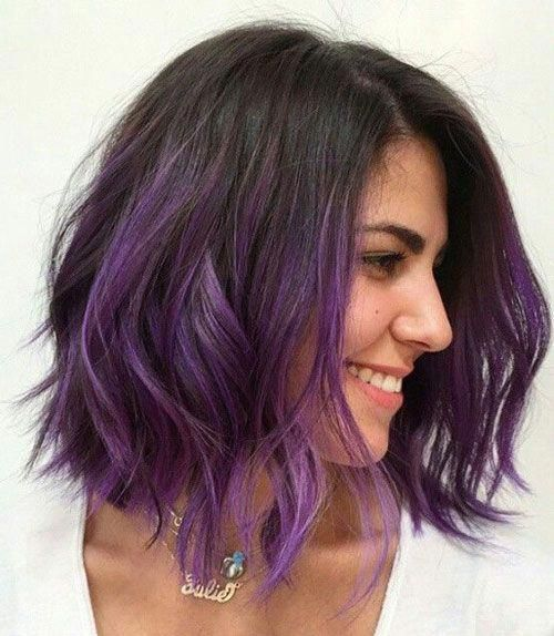 Spice Up Your Summer Highlights Short Ombre Hair Miley Cyrus Hair Hair Styles