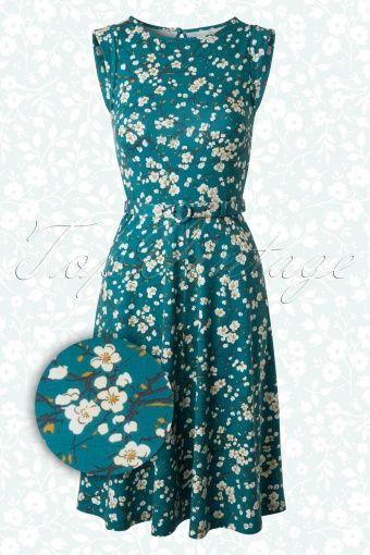 King Louie Floral Betty Dress  105 39 13782 20141229 0004W2
