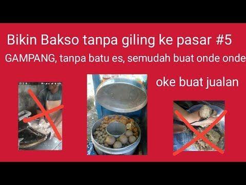 Gampangnya Bikin Bakso Tanpa Giling Ke Pasar 5 Tahap Mencampur Bumbu Youtube Bakso Daging Daging Sapi