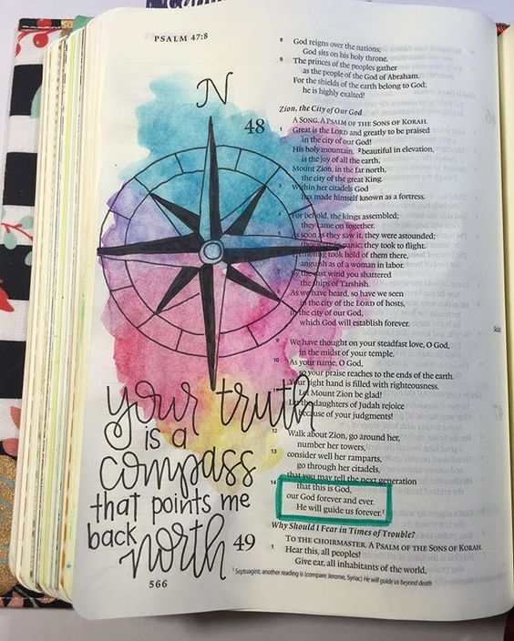Bible Journaling by Nicki Verbil @nickicreates