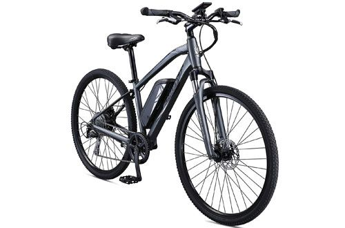 Schwinn Sycamore Hub Drive Mountain Hybrid Electric Bicycle Electric Mountain Bike Mountain Bike Reviews Mountain Biking