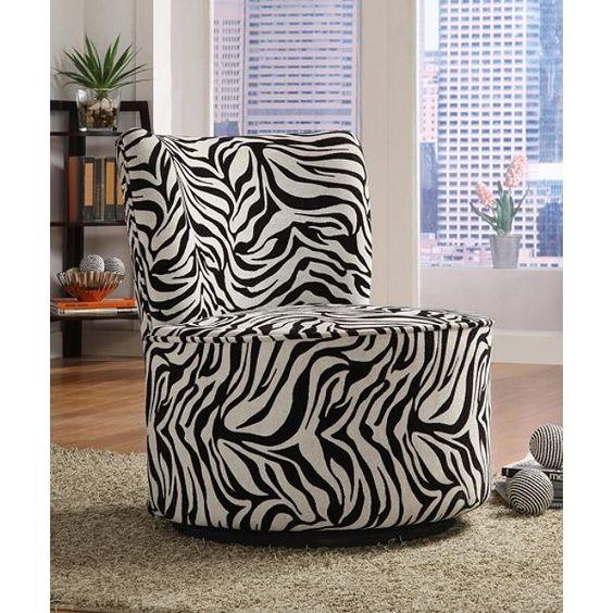 Zebra Print Furniture For