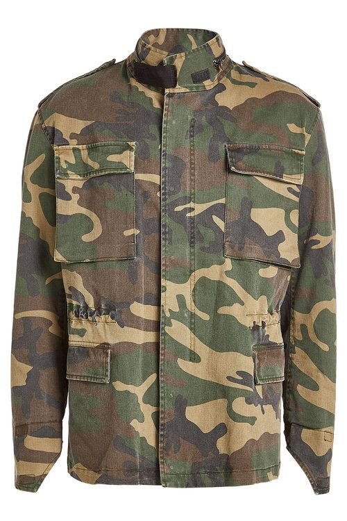 Yeezy Season 4 Camouflage Stretch cotton Jacket In Cpn38
