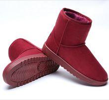 2015 8 colores de moda de Invierno de las mujeres botas de nieve para Mujer, Además de terciopelo Antideslizantes calientes mujeres botas cortas s654(China (Mainland))