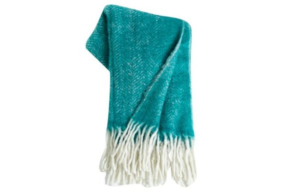 Walberg Throw, Turquoise
