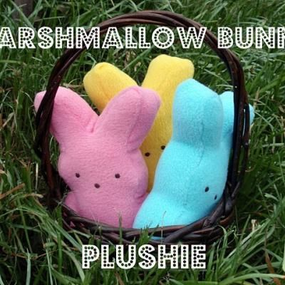 Peeps! For your favorite people -- sew these cute Peeps for more Easter fun!