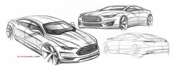 car design  2013 ford fusion energi