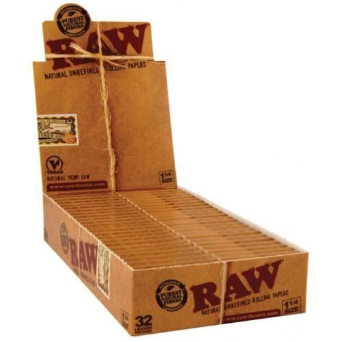 Raw Classic 1 1 4 Rolling Paper 24 Count Box Paper Ebay Pure Products