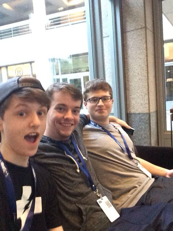 Bayani, HBomb94, and graser10 at Pax Prime 2014
