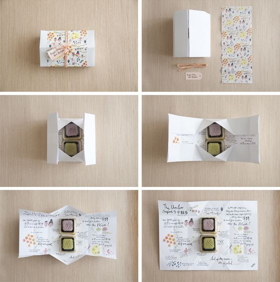 Moon Cake Packaging Design Vector : Gift wrapping, Design and Mooncake on Pinterest