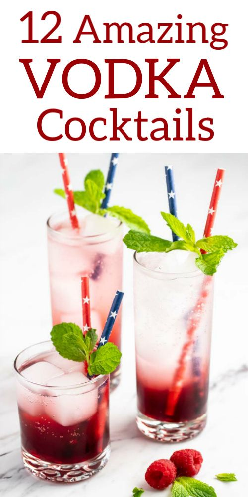 12 Easy Vodka Cocktails A Collection Of Simple And Easy Vodka