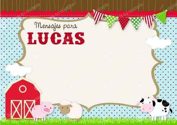 Tarjetas de cumpleaños de la granja Imagui Stuff to Buy Pinterest Tes and Primer