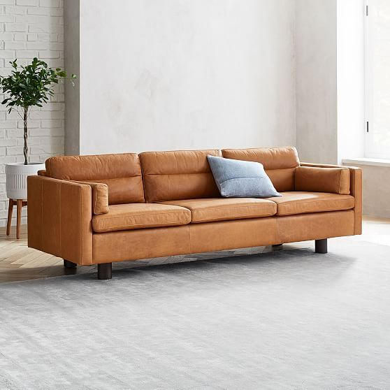 Aston Leather Sofa In 2020 Leather Sofa Sofa 3 Seater Leather Sofa