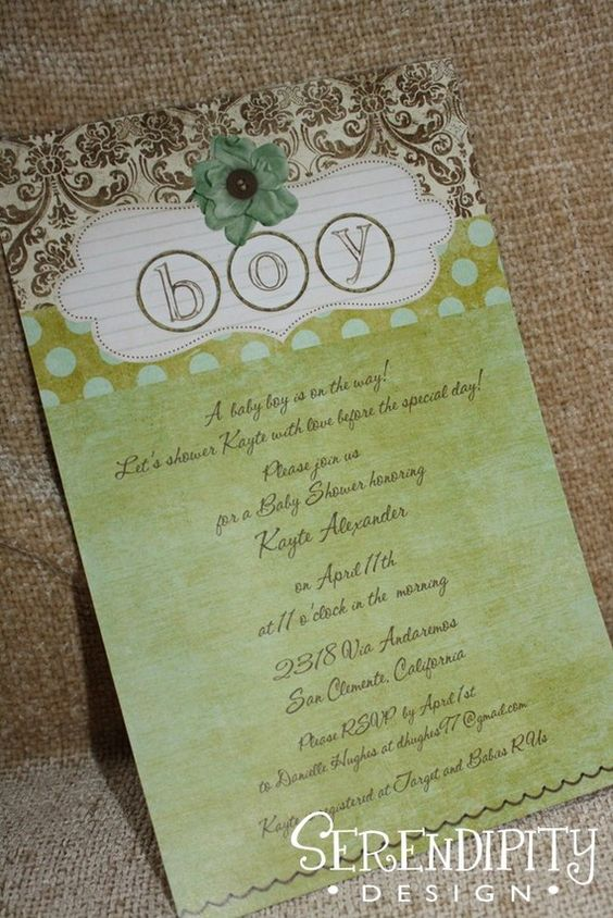 adorable baby shower and birthday invites by @Stacia Freeman
