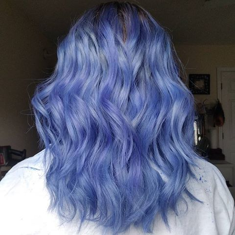 45++ Periwinkle hair dye inspirations
