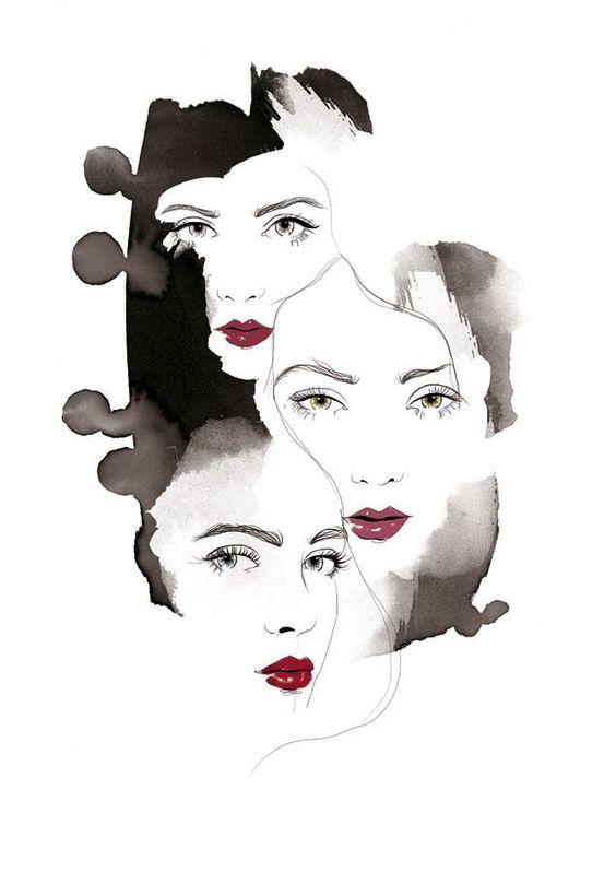 Inspiración con la ilustradora Judit Garcia Talavera #ilustraciones #femeninas